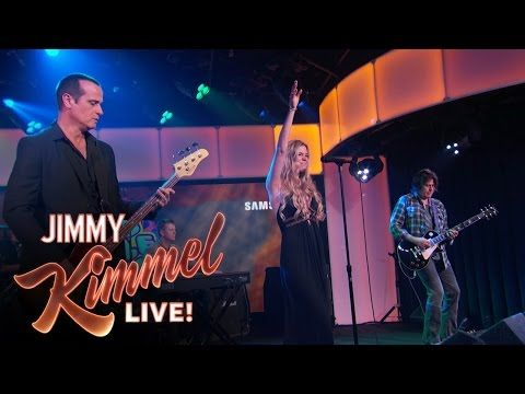"""Joss Stone Temple Pilots Performs """"Interstate Love Song"""" - YouTube  Interesting mash.   I used to love STP!"""
