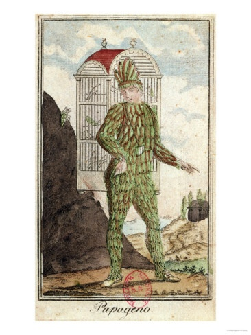 I want to stick to the original concept for Papageno. It makes the character.