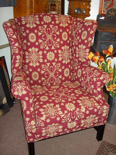 17 best images about primitive upholstered chairs on for P s furniture concord vt