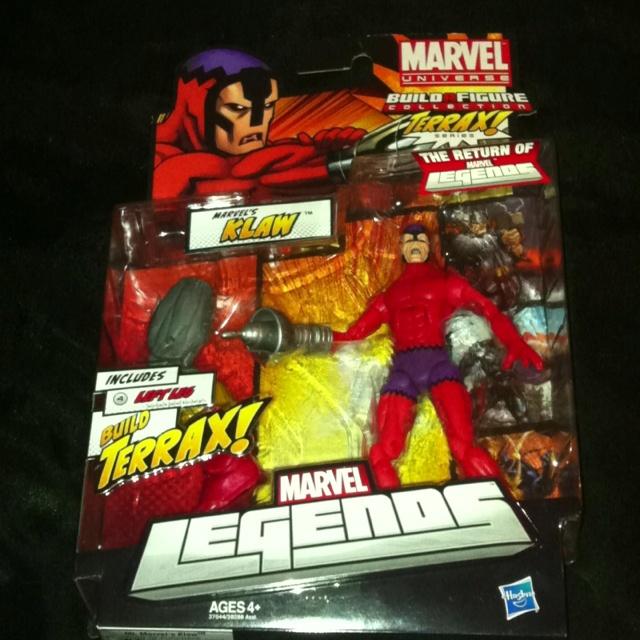 Marvel Legends Marvel's Klaw