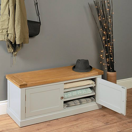 Inspirational Hallway Storage Chest