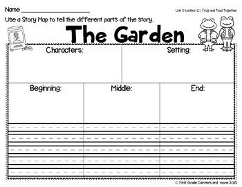 Printables Frog And Toad Worksheets 1000 ideas about frog and toad on pinterest phonics writing the garden journeys first grade unit 5 lesson 21