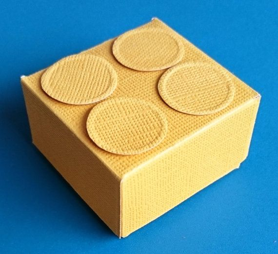 Small Brick Style Gift Box by BavsCrafts on Etsy
