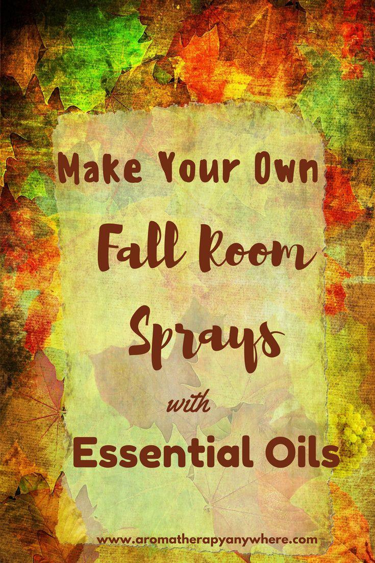 DIY Fall room sprays with essential oils