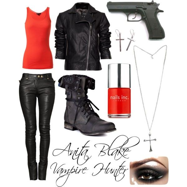 """Anita Blake: Vampire Hunter"" by nefatari on Polyvore"