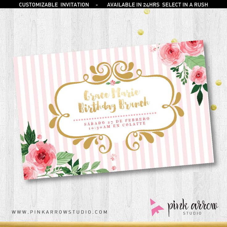 31 best Invitations images on Pinterest | Party invitations, Etsy ...