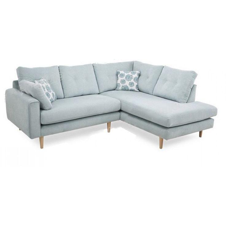 Canapé d'angle personnalisable CALAIS (lin ou microfibre)
