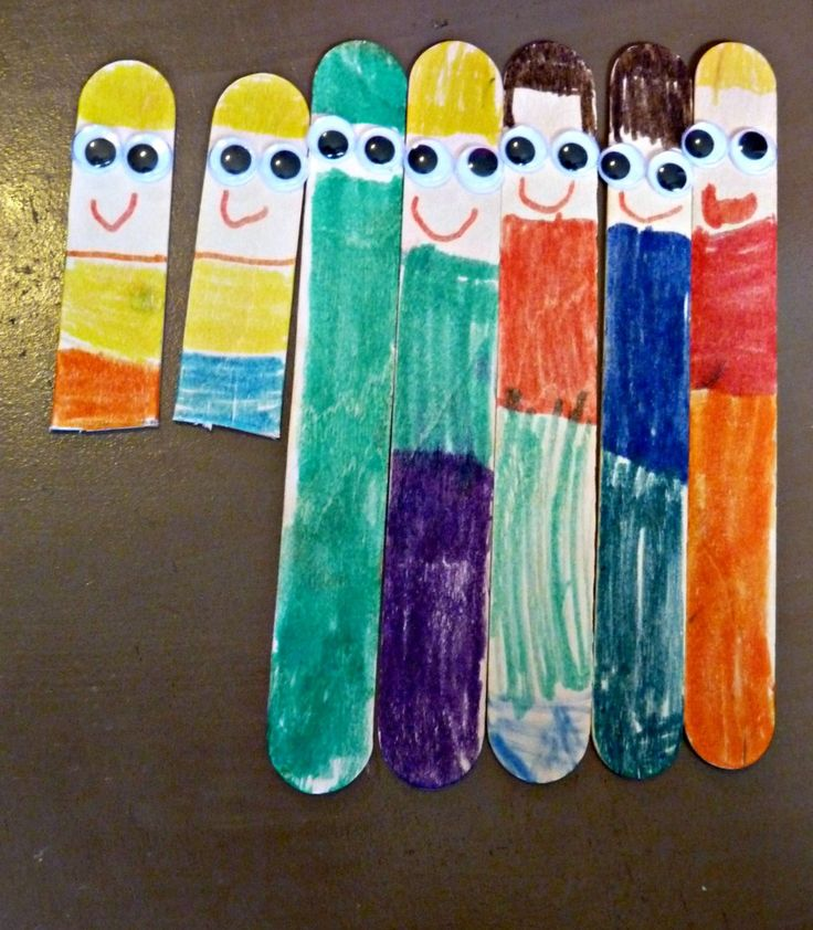 popsicle stick family                                                                                                                                                                                 More