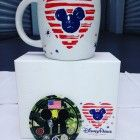 """BUY IT NOW ... ONLY $33.88 -- NEW """"STARBUCKS DISNEYLAND BLUE MICKEY"""" HONOR OUR U.S. VETERANS """"AMERICANA"""" Limited Edition COFFEE MUG -- PLUS SPECIAL VETERANS PIN and """"STAR WARS"""" BONUS GIFT...... (PLEASE CLICK-ON THE PICTURE TO SEE ALL THE GREAT DETAILS) ... #StarWars #STARBUCKS #Veterans #ARMY #NAVY #AirForce #MARINES #DISNEYLAND #WaltDisneyWorld #BaristaLife #iPHONE7 #AppleWatch #ArtFire #ETSY #EtsyShop #EtsySeller"""