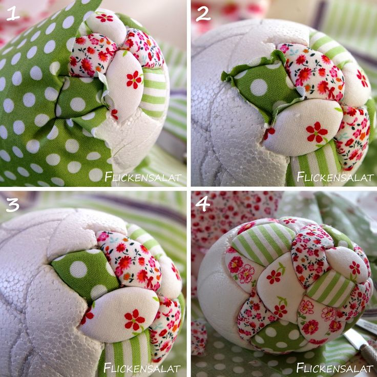 Patchwork Eier DIY Tutorial
