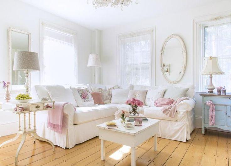 Wohnzimmer Ideen Shabby Chic | Zimmer.Defame.Us