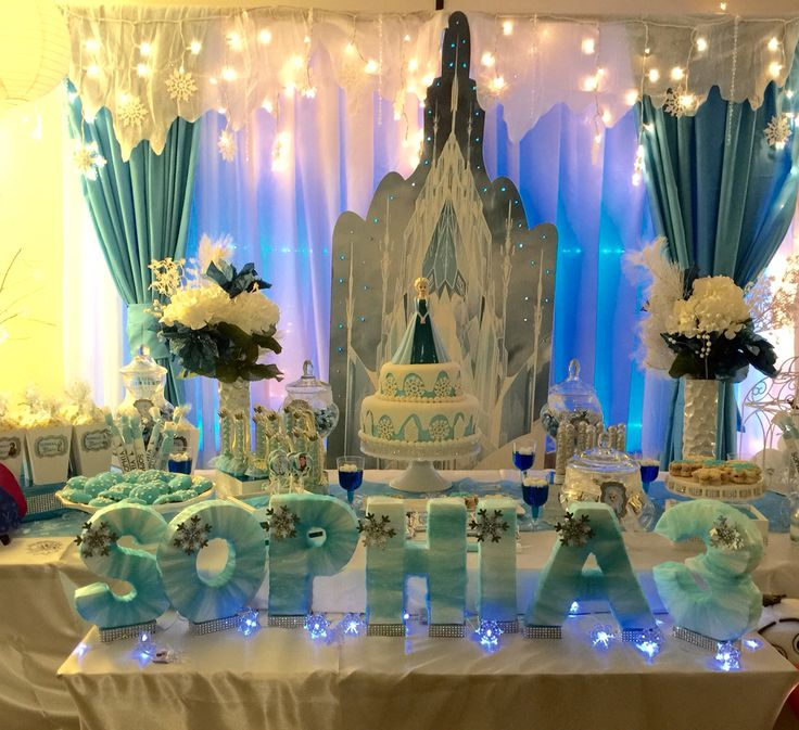 Best 25 Frozen table decorations ideas on Pinterest Frozen