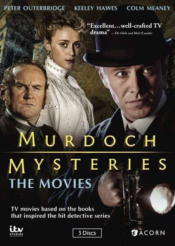 Murdoch Mysteries: The Movies (3-DVD) (2015) - Television on Starring Colm Meaney, Keeley Hawes & Peter Outerbridge; Acorn Media $35.99 on OLDIES.com