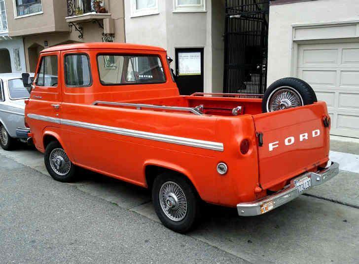 Vintage Trucks 1960s Ford Econoline The Econoline Was Unlike Any