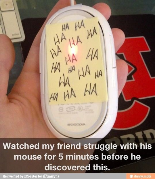 Great prank!  Funny, creative, and no one gets hurt!