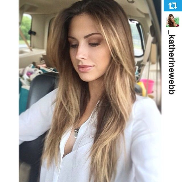 Guy Tang created this Balayage Ombre for Katherine Webb, it's been 3 months & it still looks great