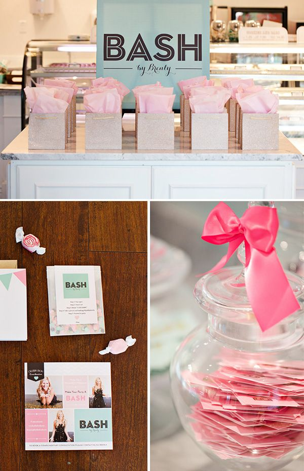 A Cute & Sparkly Company Launch Party {YAY!}  Great for when I become a MK Director!!!
