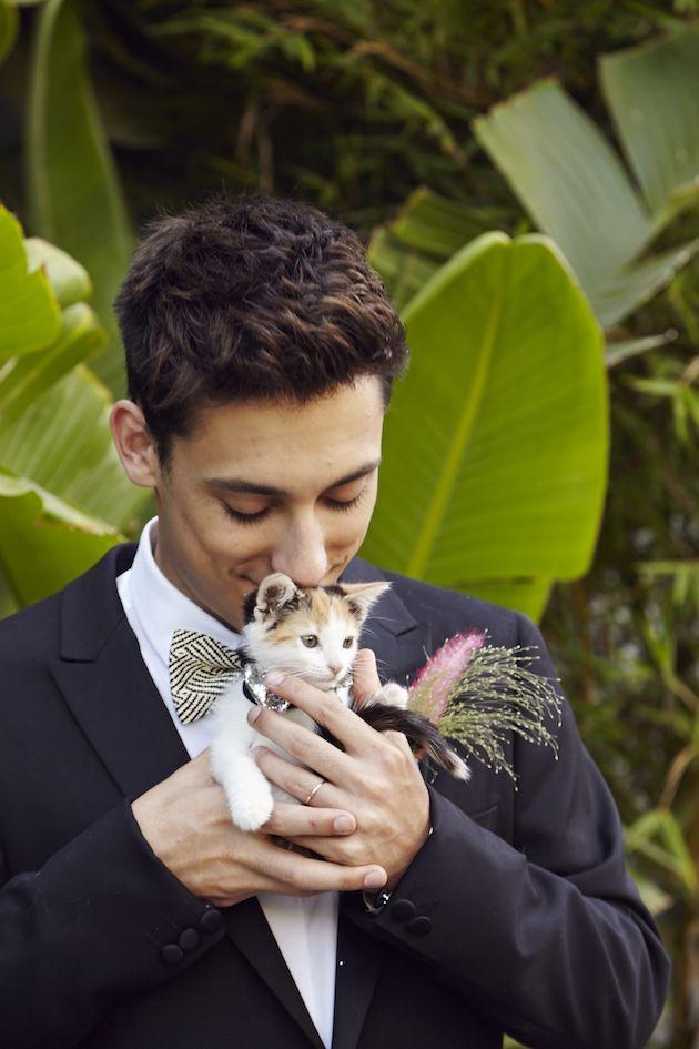 Cat Themed Wedding Inspiration | Josh Madson Photography | Happily | Bridal Musings Wedding Blog 14