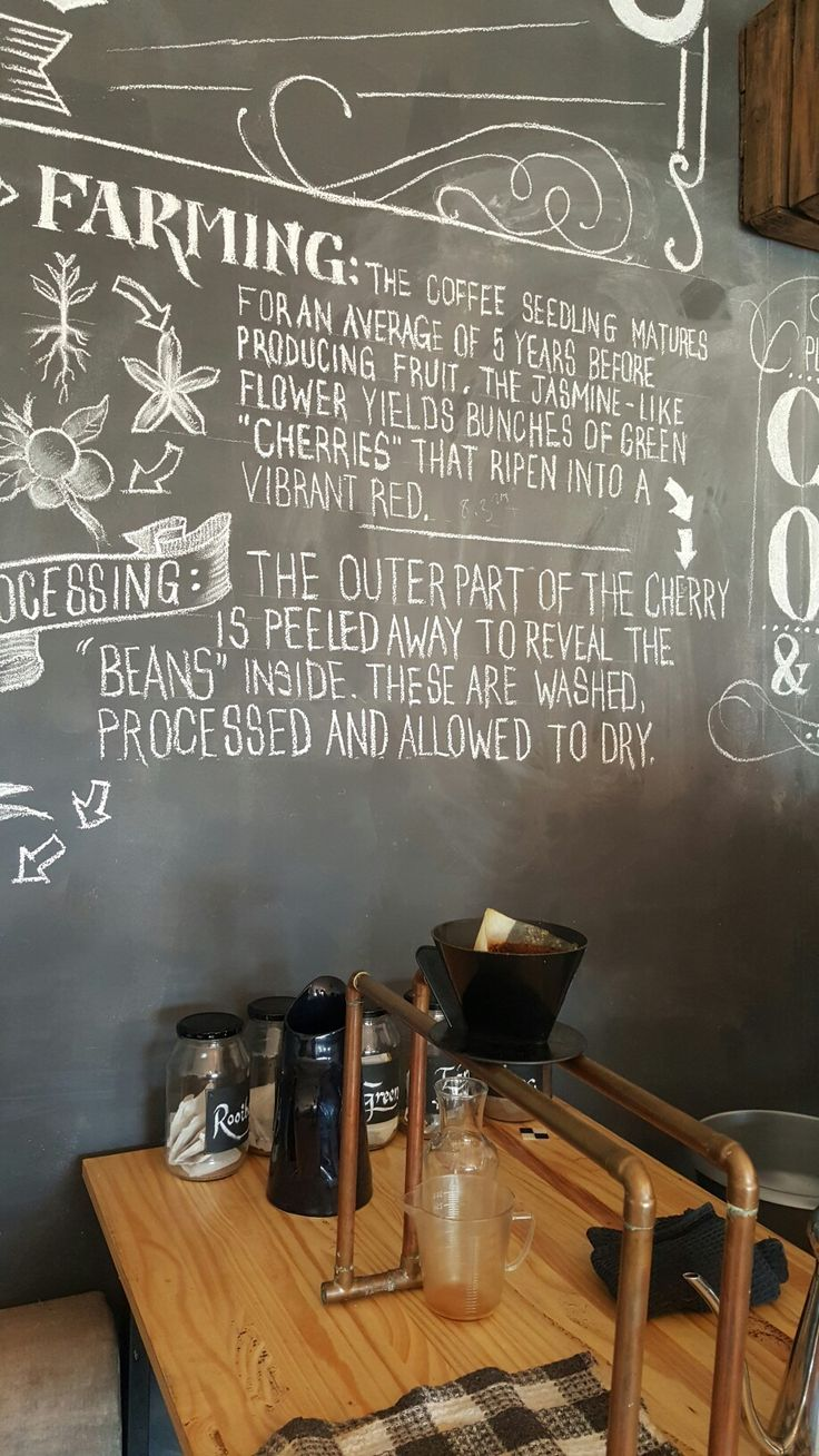 Decor at Boston Coffee shop , bellville