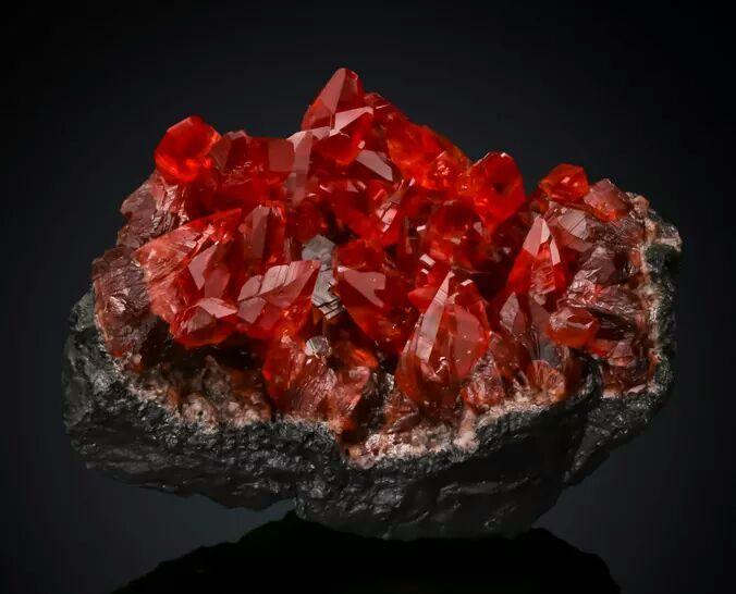 Rhodochrosite -- NChwaning mine, South Africa