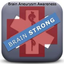 September is Brain Aneurysm Awarenss Month...be BRAINSTRONG!