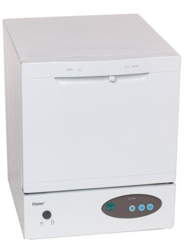 Haier HDT18PA Space Saver Compact Countertop Dishwasher >>> You can get more details by clicking on the image.