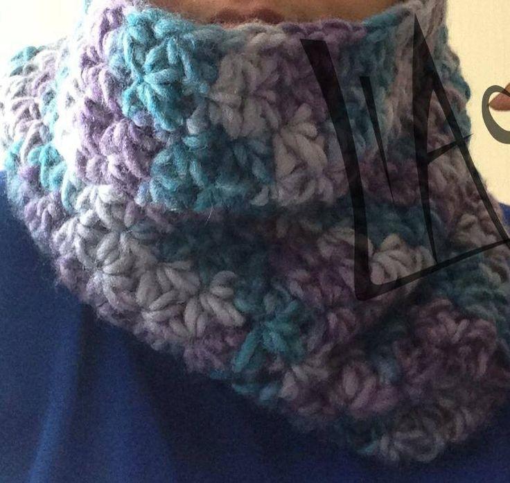Cuello a crochet LlAc