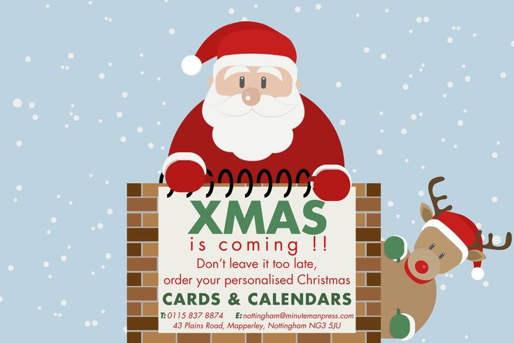 XMAS is coming!! get your personalised christmas cards and calendars, before it's too late #cards #Calendars #Xmas #christmas #crimbo #print