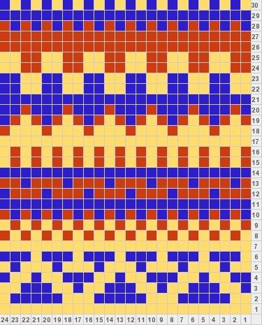 48 best fair isle images on Pinterest   Knitting charts, Knitting ...