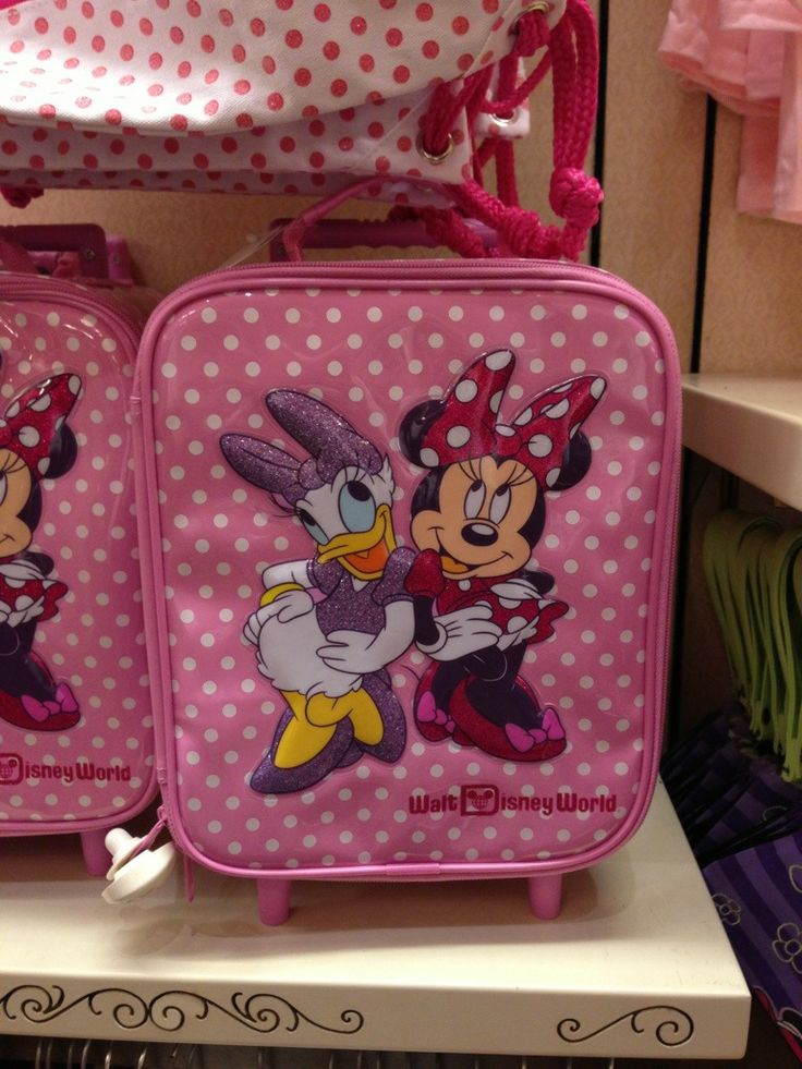 Magic Kingdom Merchandise: Disney Fashion & Frozen Merchandise! | DisneyLifestylers Minnie and Daisy luggage
