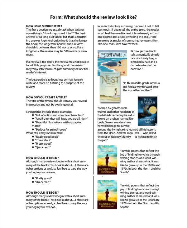 book review template for kids  book review template book
