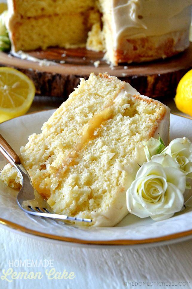 Dieser hausgemachte Zitronenkuchen, der beste aller Zeiten, wird Ihr neues Rezept für Zitronenkuchen sein! Moi …   – Food
