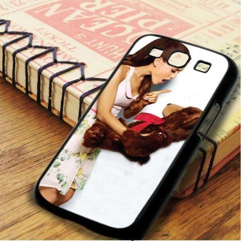 Ariana Grande Bear Cute Samsung Galaxy S3 Case