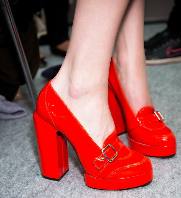 Carven Red Shoes - Spring '13