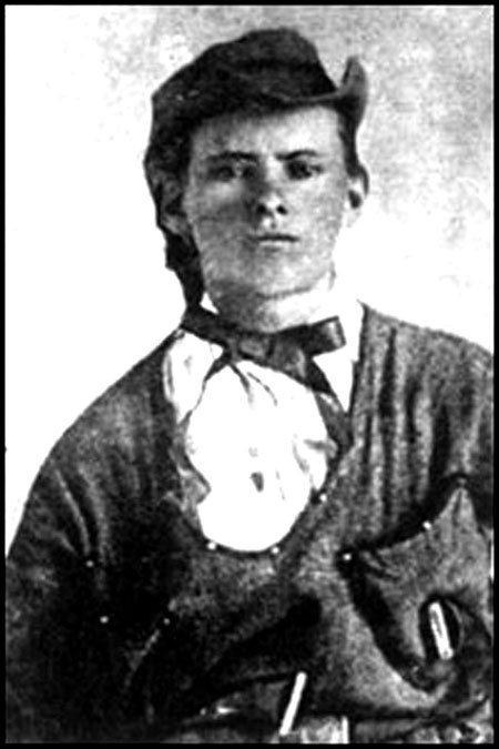 Jesse James, photographed in Platte City at age 17, at about the time he joined Quantrill as a guerrilla. In Missouri, the secessionist was championed by guerrillas like William Quantrill, Jesse James, and Bloody Bill Anderson. Guerrillas would ride into a farm and take everything of value. Read more about this guerrilla warfare at the Missouri History Museum's blog: http://historyhappenshere.org/archives/7305#.