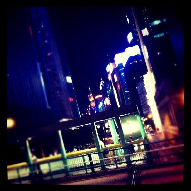 Drunk in HK somewhere