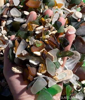 Bermuda Sea Glass - Dockyard Beach  What? Sea Glass to make jewelry with? I know what everyone is getting for christmas!