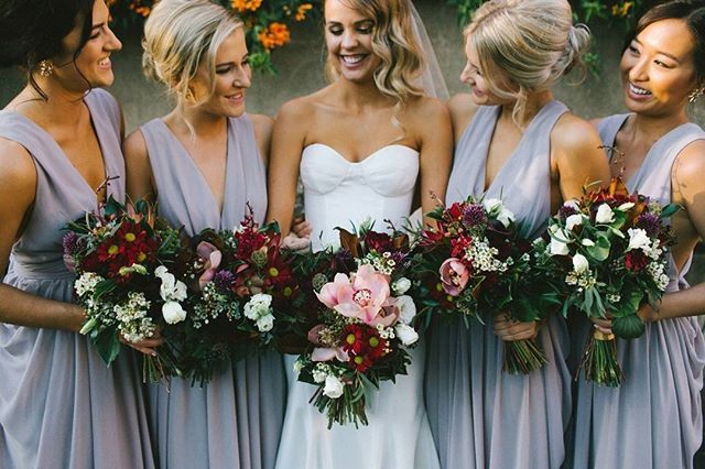 ••• Rachel + her maids ••• See more of this stunning wedding now live on OUR…