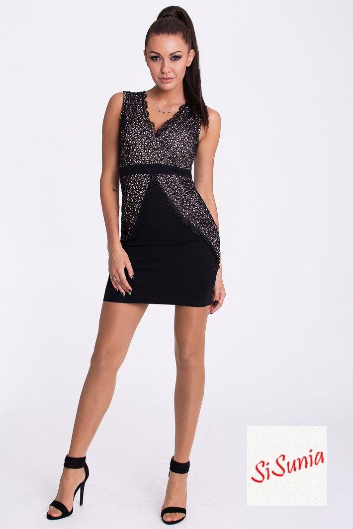 Sukienka pokryta haftem  ZAPRASZAM NA facebook'a SiSunia shop
