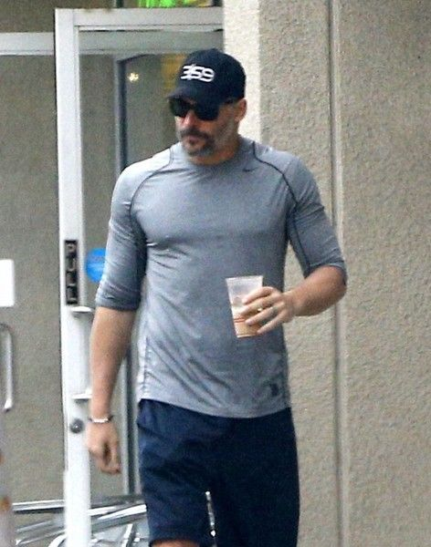 "Joe Manganiello Photos Photos - Actor Joe Manganiello was seen grabbing an iced coffee in West Hollywood, California on February, 2017. Joe and wife Sofia Vergara are enjoying their marriage and still ""feel like newlyweds."" - Joe Manganiello Out And About In West Hollywood"