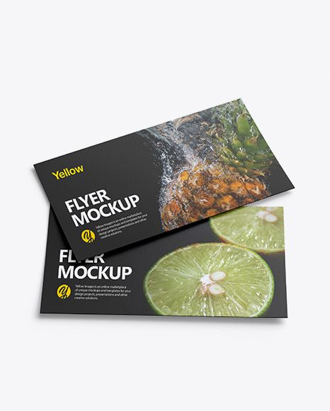Free Mockups Free PSD Mockup Two Textured Flyers Mockup Object Mockups Free PSD Mockups Templates for: Magazine Book Stationery and other