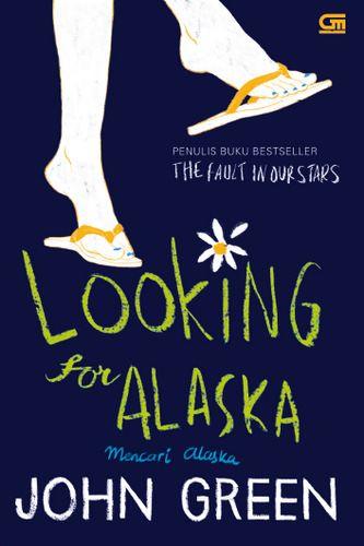 """Looking For Alaska"" John Green . . #buku #sewabuku #perpustakaan"