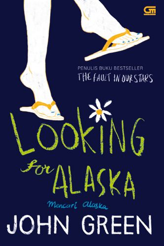 """Looking For Alaska"" John Green . . #buku #sewabuku #perpustakaan"