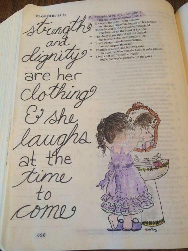 Spreuken 31:25