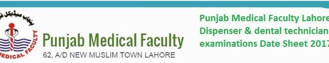 Punjab Medical Faculty dispenser
