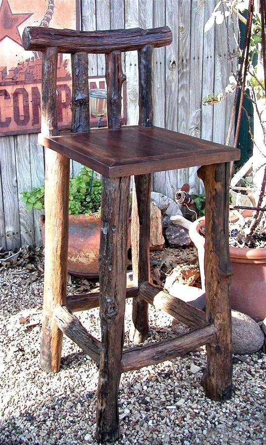 The 25 best rustic outdoor bar ideas on pinterest rustic outdoor bar furniture diy projects Rustic outdoor bar stools