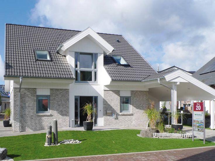 Plus-Energie-Haus Adelby • Effizienzhaus von danhaus • Gemütliches Energiesparhaus mit modernem Design • Jetzt bei Musterhaus.net informieren!