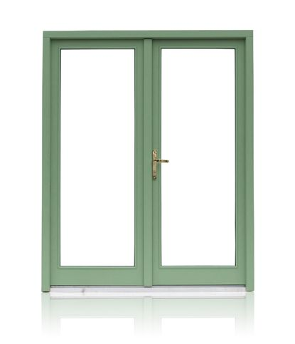 Heritage Double Doors from Munster Joinery - available in a white finish