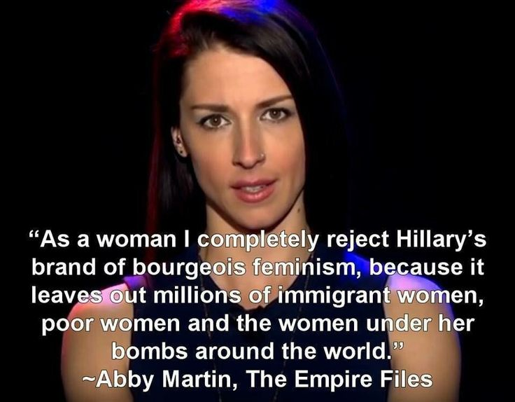 Bravo Abby Martin. Absolutely.
