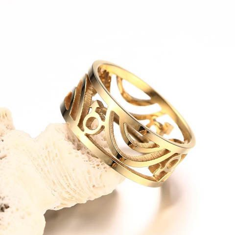 Gay Pride Ring in Silver or Gold
